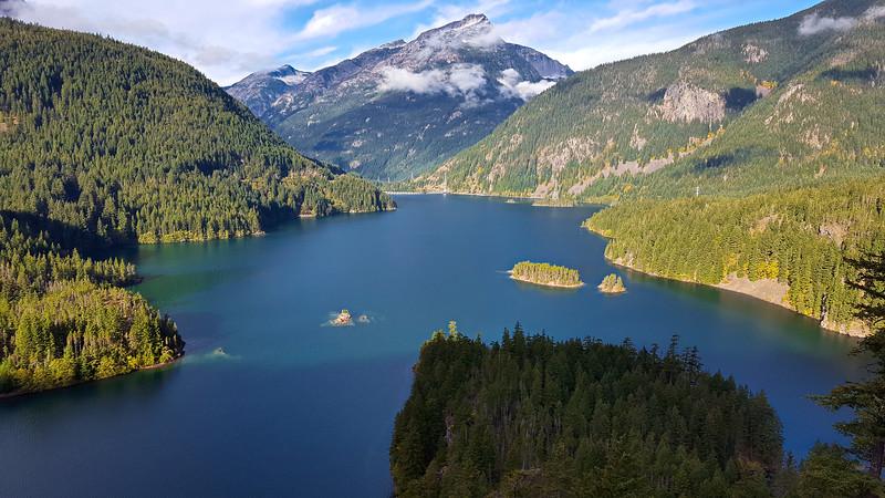 Diablo Lake from the Diablo Lake viewpoint