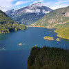 Diablo Lake from the Diablo Lake viewpoint