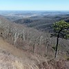 View east from Skyline Drive
