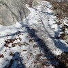 Icy trail to Mary's Rock