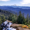 Mt Jefferson from Bull of the Woods Lookout