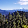 Mt Jefferson and Olallie Butte from Bull of the Woods lookout