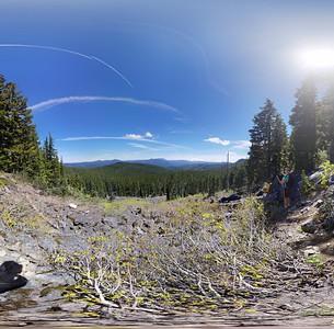 360 Photo from Rockslide on Burnt Granite
