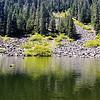 High Lake on Fish Creek Mountain trail
