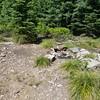Old lookout on Fish Creek  - Fish Creek Mountain trail