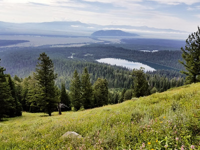 Bradley Lake from Ampitheater Lake trail