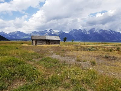 Mormon Row in the Grand Tetons