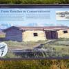Cunningham cabin interpretive display