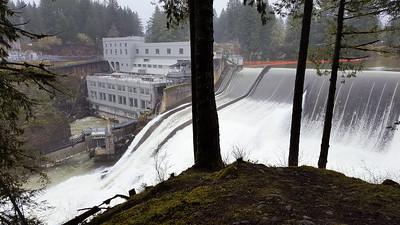 River Mill Dam Spillway