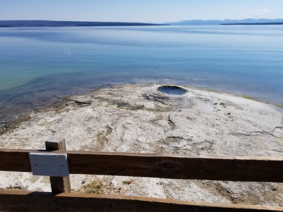 Big Cone at West Thumb Geyser Basin