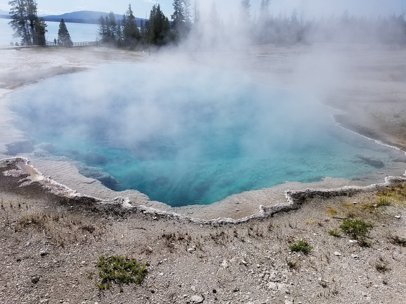 Abyss Pool at West Thumb Geyser Basin