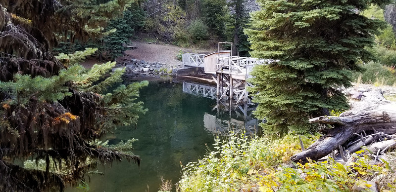 Different view of the diversion dam