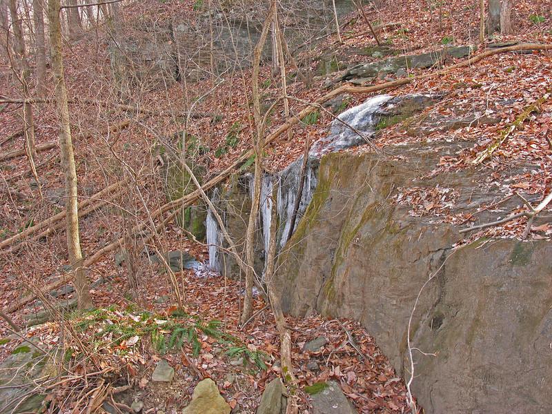 19 Ice formation alongside Appalachian Trail