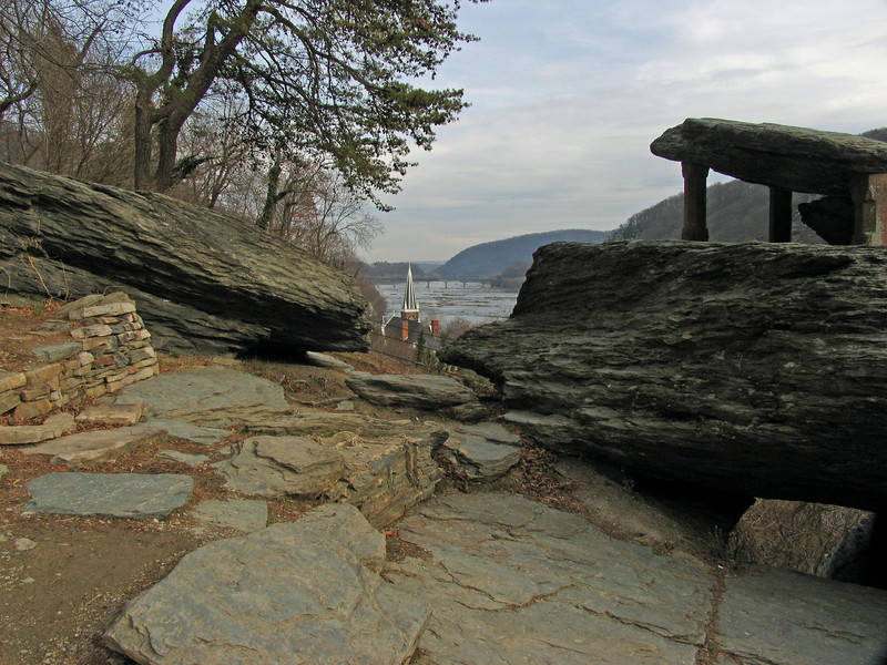 31 Jeffersons Rock at Harpers Ferry, WV