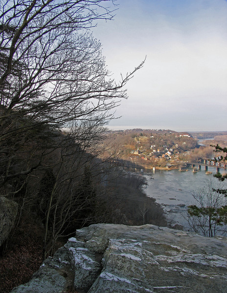 05 Harpers Ferry from Split Rocks overlook
