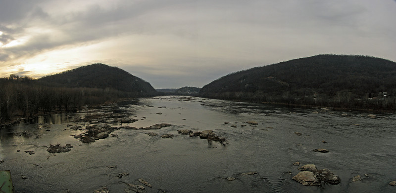43 Potomac River Panorama from US 340 Bridge