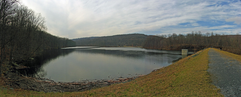 28 Hunting Creek Lake & Dam Panorama
