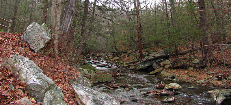 37 Big Hunting Creek at MD 77 Cat Rock trailhead parking area