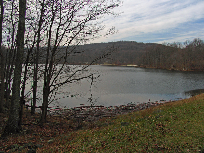 26 Hunting Creek Lake from dam