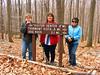 30 Mary,Peggy,Diane_Cactoctin Mountain Park trail
