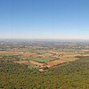 013  Panoramic view of Cumberland Valley from High Rock