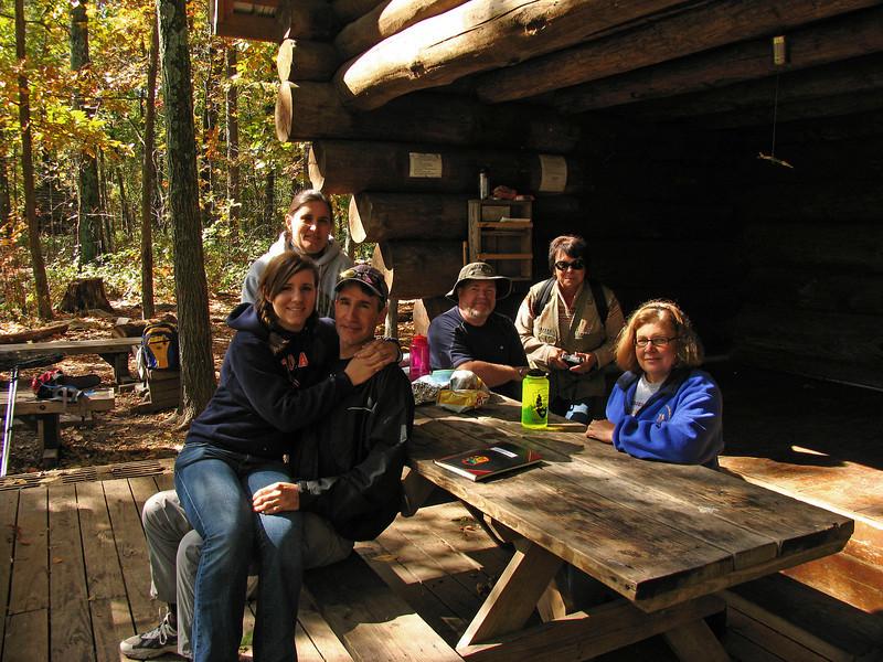 079 The group at Ed Garvey Memorial Shelter