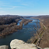 43 View up the Potomac River into the Great Valley