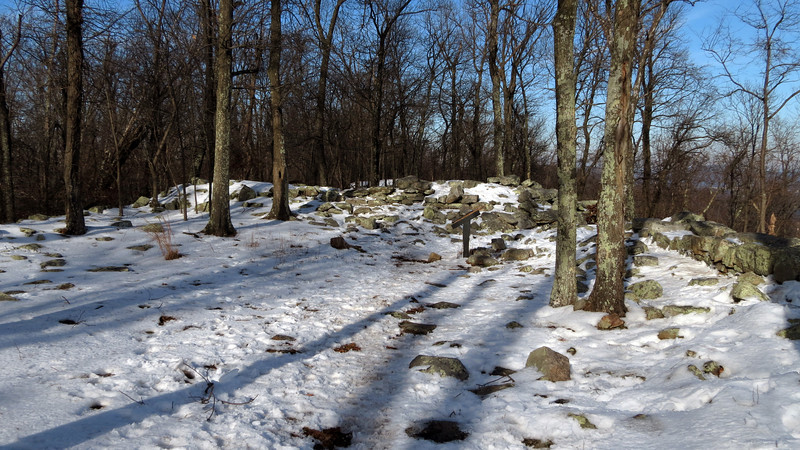 71 Stone Fort Ruins at the summit of Maryland Heights