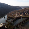 40 Confluence of Shenandoah & Potomac Rivers at Harpers Ferry, WV