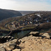 25 Maryland Heights view of Harpers Ferry, WV