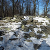 79 Ruins of Stone Fort at summit of Maryland Heights