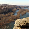 32 Maryland Heights view up the Potomac River