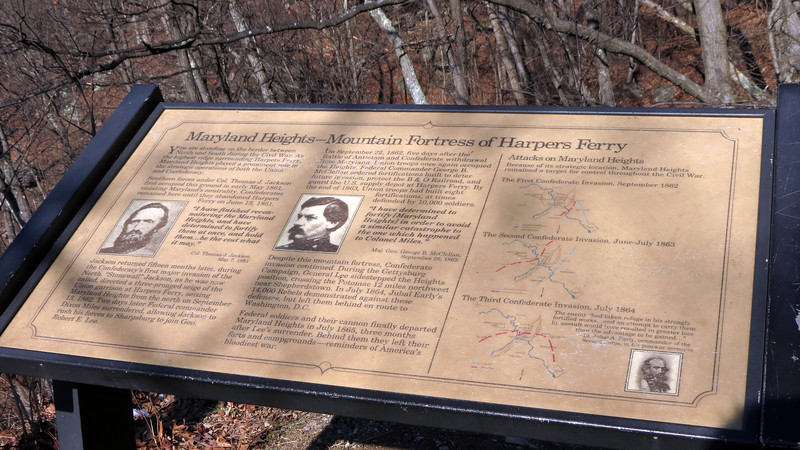 10 Wayside (Maryland Heights-Mountain Fortress of Harpers Ferry)