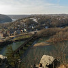 31 Maryland Heights view of Harpers Ferry WV