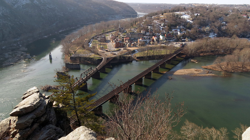 36 Harpers Ferry, WV_Confluence of Potomac & Shenandoah Rivers