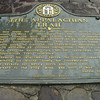 Plaque at Amicalola Falls
