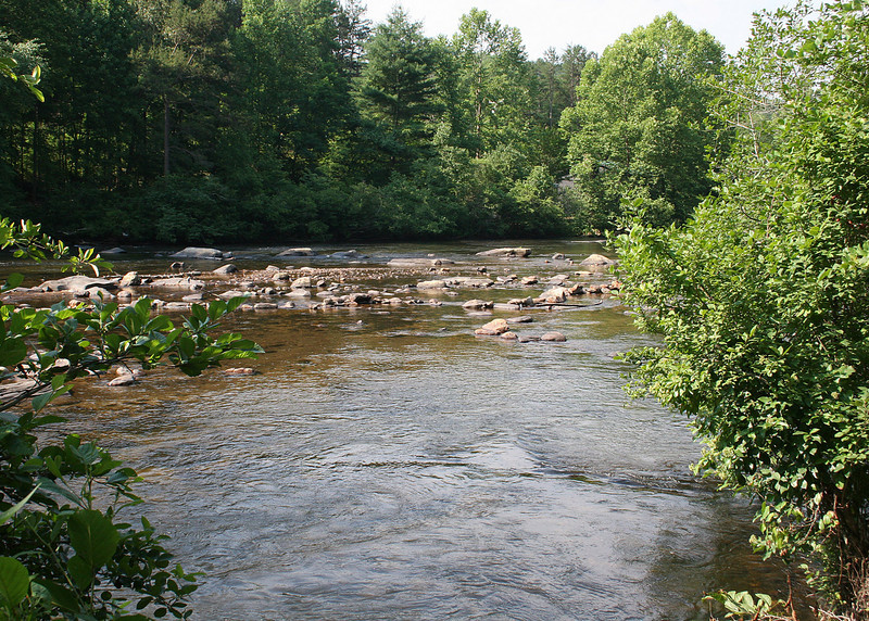 The Toccoa River