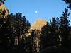 6 am moon over Mt. Robinson