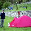 Amanece en el camping de Bujaruelo