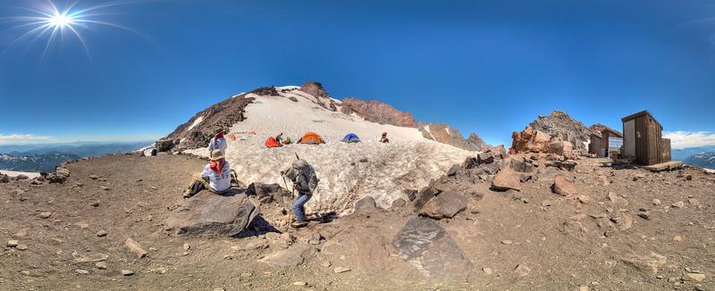 Camp Muir, Mt. Rainier 2017