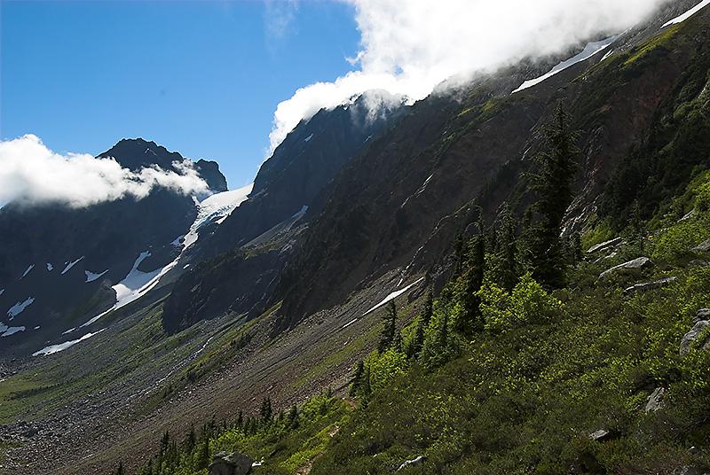 Yawning Glacier (I think)