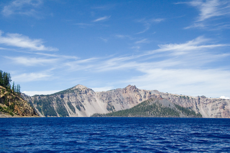 Wizard Iland in Crater Lake