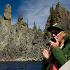 """Our tour guide describing """"Phanton Ship"""""""