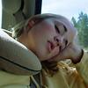 Morgan sleeps her way home