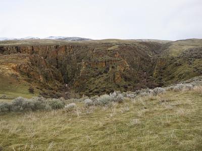Eagle Canyon, east viewpoint.