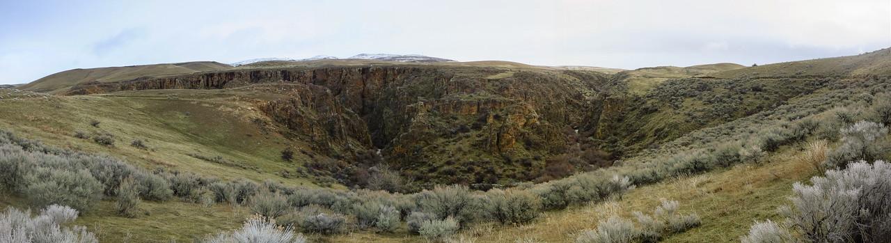 Eagle Canyon panoramic.