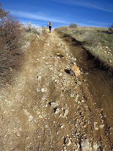 By contrast trail 4 is beautiful traction in full sun, lots of drainage.