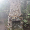 Old chimney, probably from former lodge at the top of Roan Mountain.