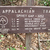 End of first day at Spivey Gap, our furthest South.