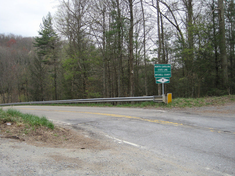 Indian Grave Gap and state line.